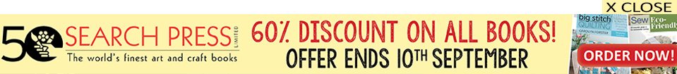 Search Press Limited | The World's finest art and craft books | 60% Discount on all books | Offer ends 10th September
