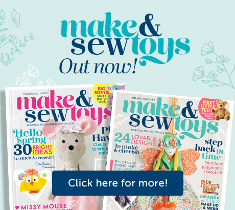Make & Sew Toys | Out now | Click here for more!
